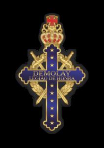 Emblema Legião de Honra DeMolay Pará